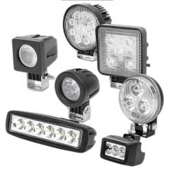 Дополнительные малогабаритные LED фары