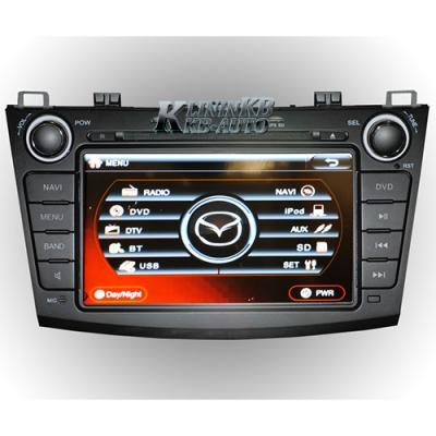 Купить штатную автомагнитолу с 8-дюймовым LCD дисплеем для автомобилей Mazda 3