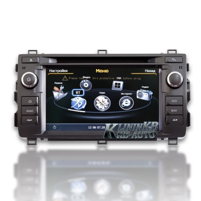 Штатная магнитола Toyota Auris (W2-C308) Winca S100