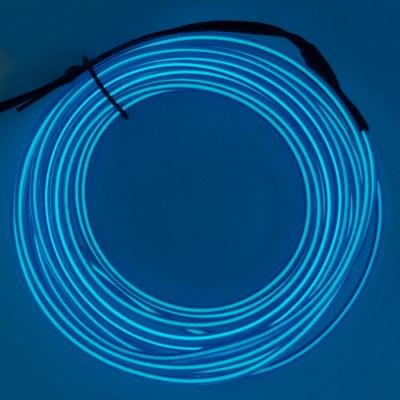 Холодный неон 1м - синий