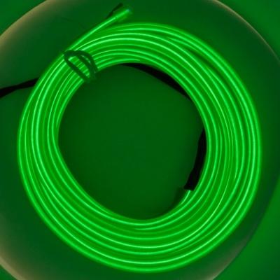 Холодный неон 3м - зеленый