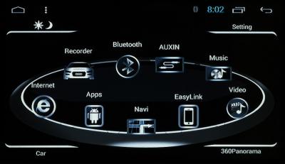 Штатная магнитола RedPower AUDI A6 (2004-2011) /Q7(2005-2015) (D90-2740) Android