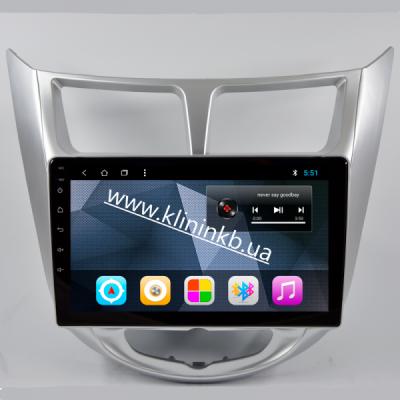 Штатная магнитола Hyundai Accent 11-16 (RPAC) T3/2/16 Android8