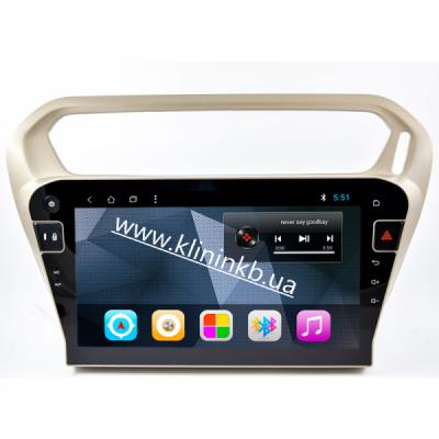 Штатная магнитола Peugeot 301/ Citroen  (RP301) T8/2/32 Android8