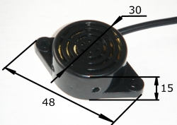 Парковочный радар Mitsumi 2605 (4 датчика, цвет серебро)