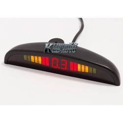 Парковочный радар Mitsumi 2623 (8 датчиков Черный)