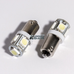 Габаритные лампы BA9S-5050 5smd