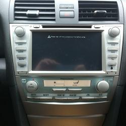 Toyota Camry V40, замена головного устройства на Winca S100