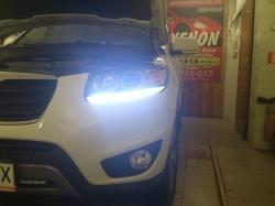 Доработка фар Hyundai Santa Fe