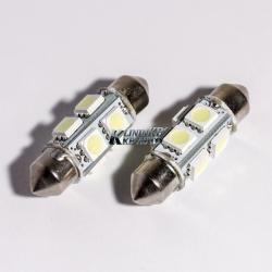 Габаритные лампы C5W FT-5050-006-8диодов 36mm
