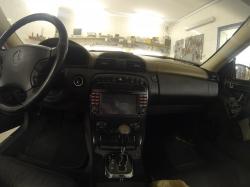 Установка штатной магнитолы MERCEDES Benz S-W220(1998-2005) (ST-8800) LSQ STAR, замена головного устройства на Winca S100