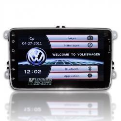 Штатная магнитола  Volkswagen Passat B6, B7, CC, Golf, Touran, Tiguan, Caddy  (XS-8001)
