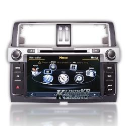 Штатная магнитола Toyota Prado 150 Рестайл  (W2-C347-1) S100