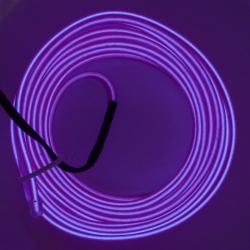 Холодный неон 3м - фиолетовый