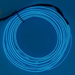 Холодный неон 3м - синий