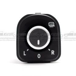 Кнопка регулировки зеркал VW Golf, Passat B6, B7, CC, Tiguan, Touran