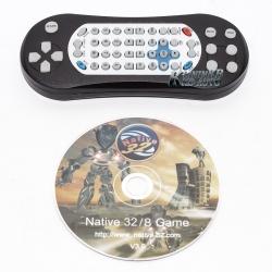 """Подголовник RedPower 9"""" с DVD и USB (Черный)"""