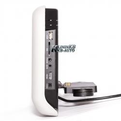 """Подголовник RedPower 9"""" с DVD и USB (Серый)"""