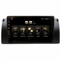"Штатная магнитола BMW E39-E53 9"" BX 4/64 Android 10"