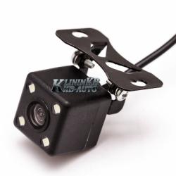 Универсальная камера T-619 Black MINI + LED  (170*/с NTSC)