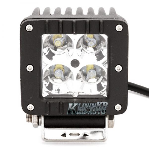 Светодиодная фара LED 2312- 4 CREE -16W ближний