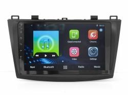 Штатная магнитола Mazda 3 2009-2013 (MZ902) Black LSQ Star Android 7