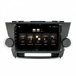 "Штатная магнитола Toyota Highlander 07-14 9"" BX 4/64 Android 10"
