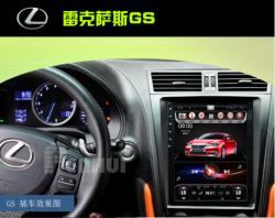Штатная магнитола Lexus GS (04-11) D90-8768) T3/2/32 Android7