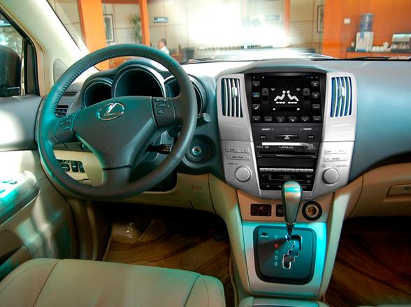 Тюнинг мультимедиа на Lexus